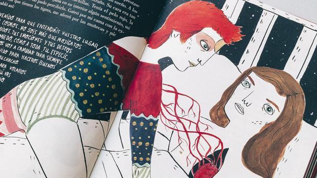 María Hesse y Fran Ruiz publican la biografía ilustrada de David Bowie