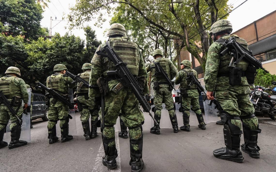 Hasta un millón de pesos de indemnización para militares en labores de seguridad