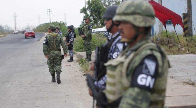 Olga Sánchez Cordero señaló que, sin policías fuertes, la Guardia Nacional no alcanzará
