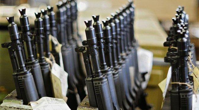 Destrucción de armas en la Ciudad de México