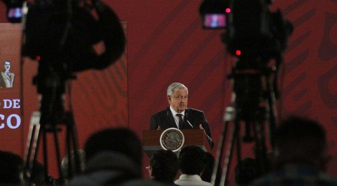 Conferencia de prensa matutina de Andrés Manuel López Obrador