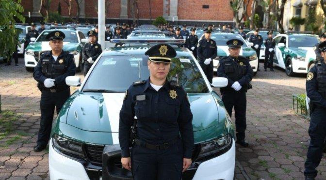 Con aplicación, capitalinos evaluarán desempeño de policías de la Ciudad de México