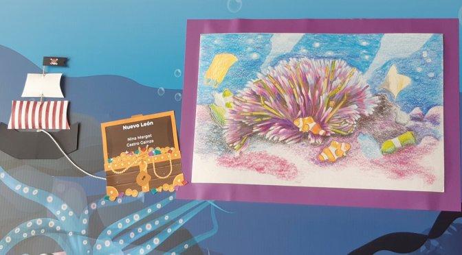 Impulsan conciencia ecológica y premian certamen de pintura infantil