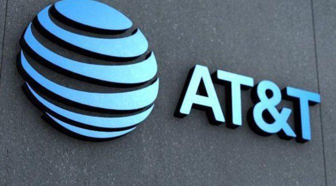 Suben 4.0 por ciento ingresos de AT&T entre abril y junio