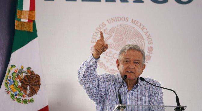 """Se terminaron las condonaciones a """"potentados"""", advierte López Obrador"""