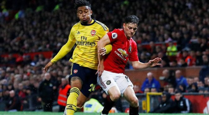 """Manchester United y Arsenal empataron en el """"Teatro de los Sueños"""""""