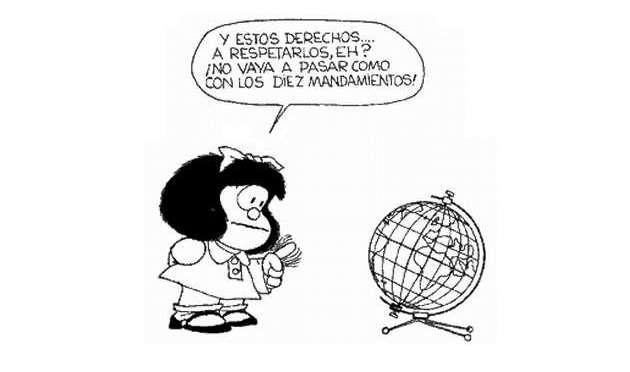 A 55 años de la primera aparición de Mafalda