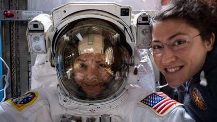 La primera caminata espacial realizada exclusivamente por mujeres