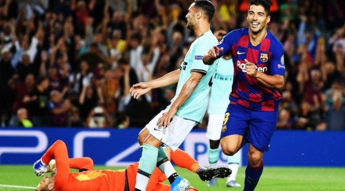 Barcelona da la vuelta al marcador y festeja en el Camp Nou