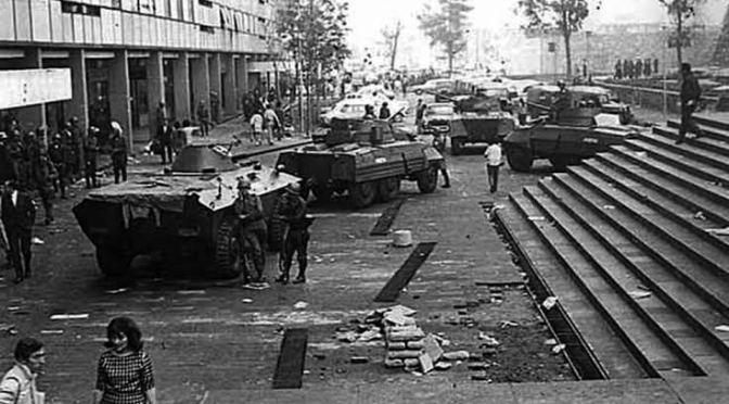 Matanza en Tlatelolco fue un exceso brutal: Dolores Padierna
