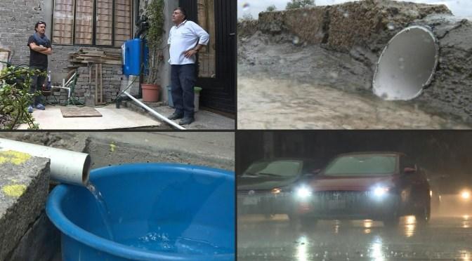 """Ciudad de México apuesta a la """"cosecha"""" de lluvia ante escasez de agua"""