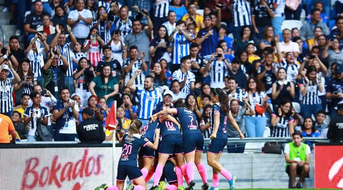 Rayadas son campeonas de la Liga MX Femenil