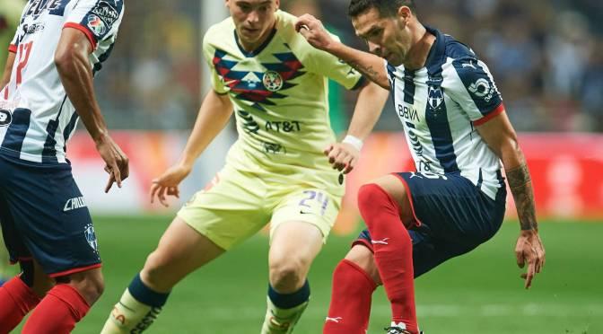 Rayados de Monterrey derrotó al América y se llevó el juego de ida de la final de la Liga MX