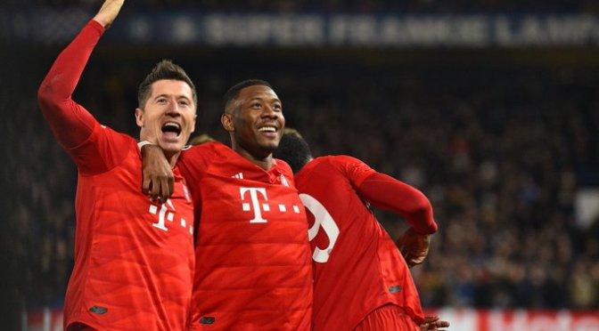 Bayern Múnich consiguió buena ventaja sobre el Chelsea