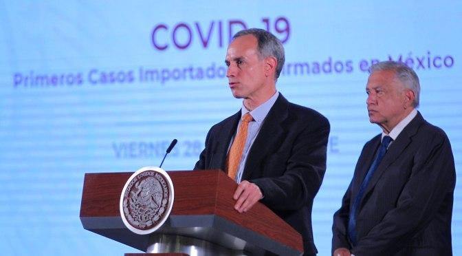 Gobierno federal suspende actividades no esenciales por coronavirus