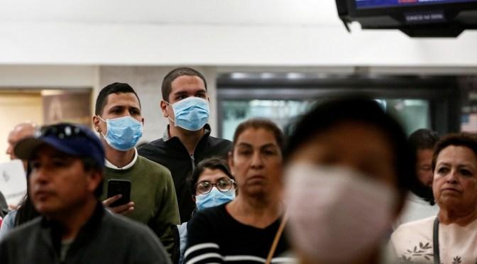 Suman 585 casos confirmados de coronavirus en México; hay 8 decesos