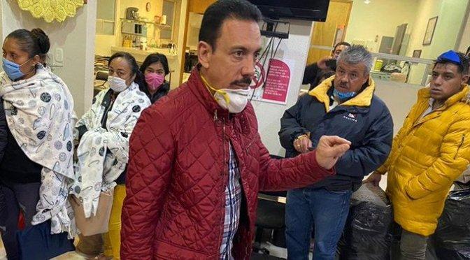 Omar Fayad, gobernador de Hidalgo, informó que dio positivo al examen de coronavirus