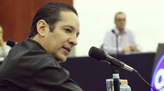 Francisco Domínguez Servién, gobernador de Querétaro, dio positivo por coronavirus