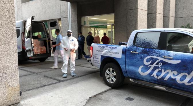 Ford y Little Caesars unen esfuerzos en favor de México
