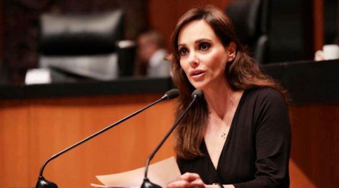Lilly Téllez se integra a la bancada del PAN en el Senado tras salir de Morena