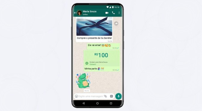 De la mano de Visa, WhatsApp estrena en Brasil función de pagos