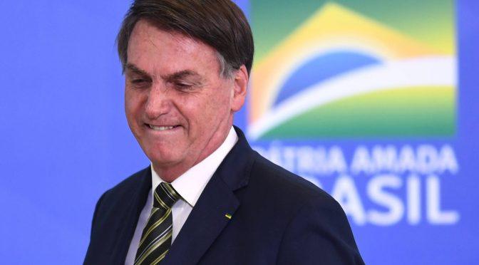 Bolsonaro vuelve a dar positivo a examen de coronavirus en Brasil