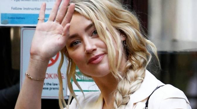 Actriz Amber Heard dice que su exmarido Johnny Depp amenazó con matarla