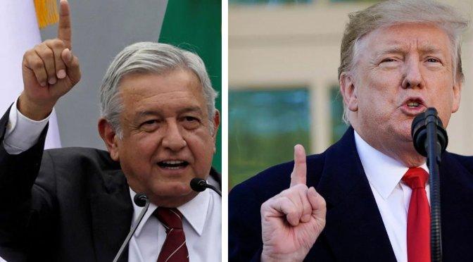 """Trump dice frente a López Obrador que los mexicanos son """"gente fantástica"""""""