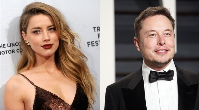 Amber Heard niega acusación de Johnny Depp sobre romance con Elon Musk