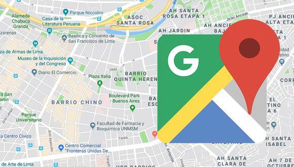 Google Maps se actualiza para mostrar mapas más detallados y coloridos