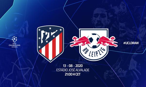 UEFA mantiene firme el duelo Atlético vs Leipzig