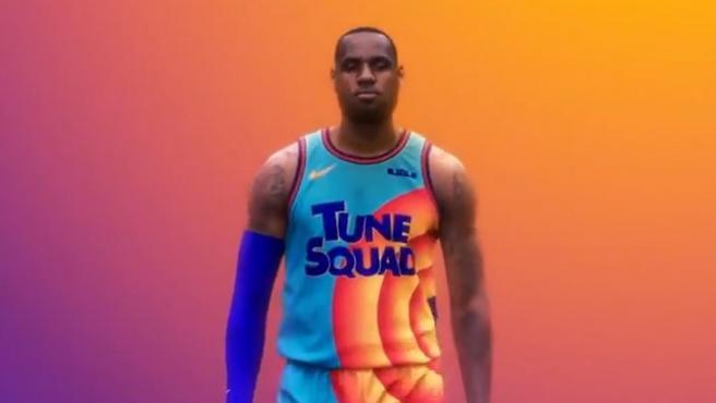 Space Jam presenta su uniforme y la marca ganadora es Nike