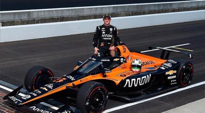 El novato mexicano O'Ward supera a tres campeones y es el más rápido previo a la Indy 500