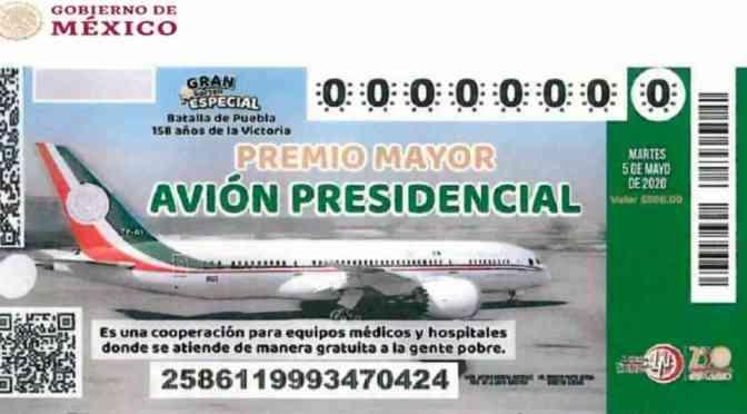 ¿AMLO se sacará la rifa del avión presidencial? Este es el número de su 'cachito'