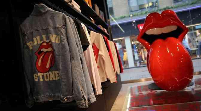 Los Rolling Stones abren tienda en Londres a pesar de la pandemia