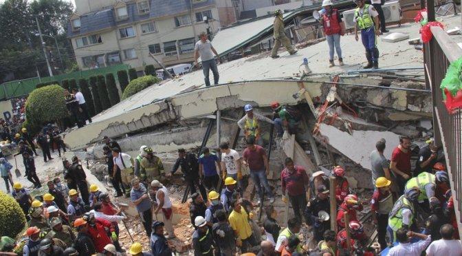 Condenan a directora de escuela Rébsamen derrumbada en sismo