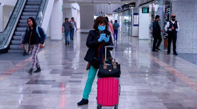 Tráfico de pasajeros en el AICM hila tres meses de mejora