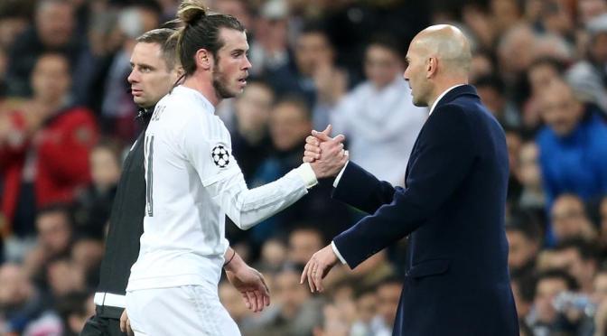 """Sin lamentar su salida, Zidane elogia el """"fenomenal"""" trabajo de Bale en el Real Madrid"""