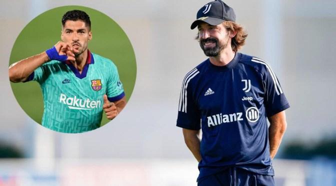 Pirlo dice que es poco probable que Suárez se una a la Juventus