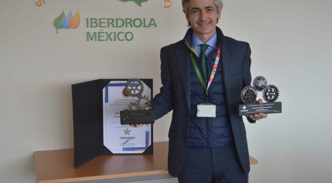 Iberdrola México recibe reconocimiento de CONCAMIN