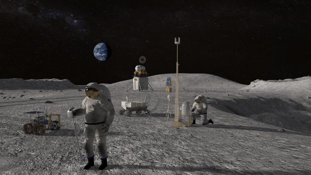 La NASA busca crear bases en la Luna y Marte con una impresora 3D