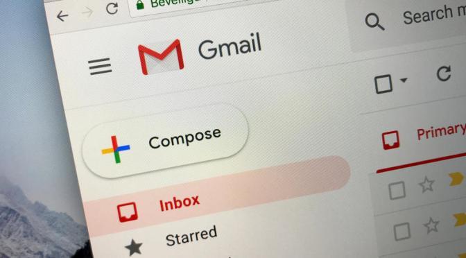 Gmail permitirá elegir si compartes datos con otras apps
