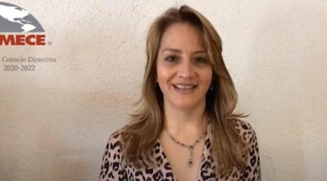 Nashielly Escobedo, primera mujer en presidir el IMECE