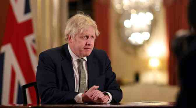 "Boris Johnson pide que terminen ""escenas vergonzosas"" en Washington"