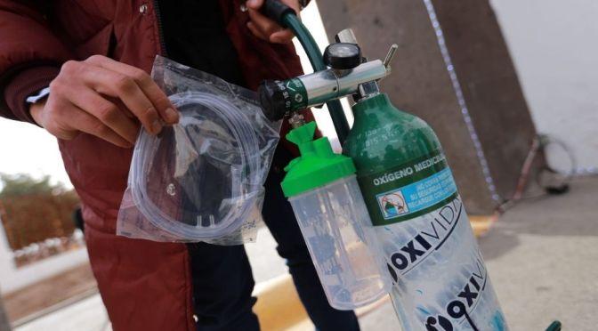 Habitantes de la CDMX sufren complicaciones para conseguir oxígeno ante repunte de COVID