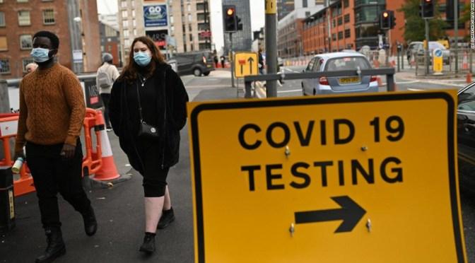 Cepa británica de Covid-19 ha sido detectada en 25 países europeos