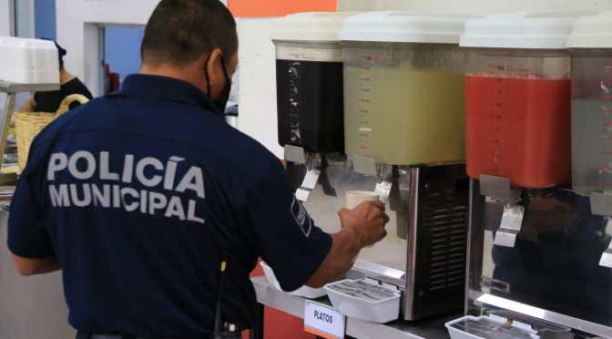 Reciben Policías de Solidaridad servicio de alimentación gratuita en Quintana Roo