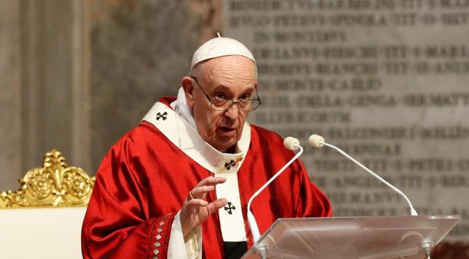 Papa insta a Estados Unidos a proteger la democracia y evitar la violencia