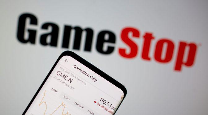 GameStop cae casi un 20% a medida que disminuye el aumento impulsado por el comercio minorista