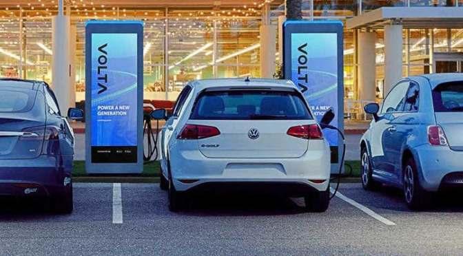 Red de carga de vehículos eléctricos Volta se hará pública mediante acuerdo de 2,000 mdd